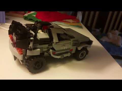 Custom Lego Delorean