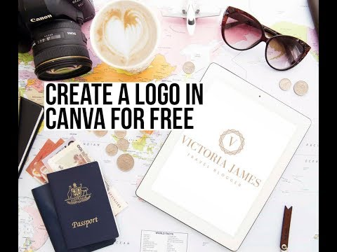 How to Create a FREE Logo Using Canva
