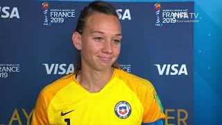 Christiane Endler – Player of the Match – USA v Chile