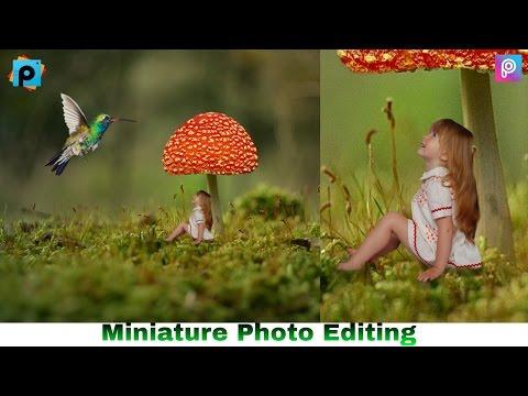 Awsome Miniature Photo Editing | Best Picsart Editing Tutorial - Amazing  Photo Editing