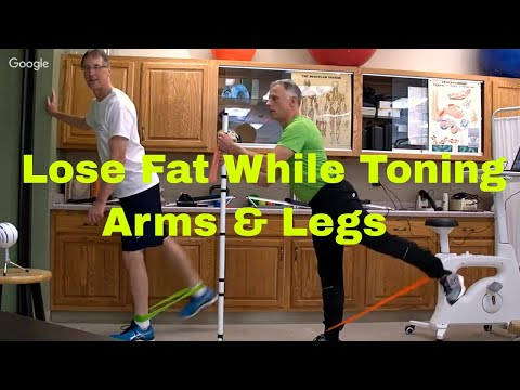 How You Can Lose Fat While Toning Arms & Legs- Exercise Loop Workout