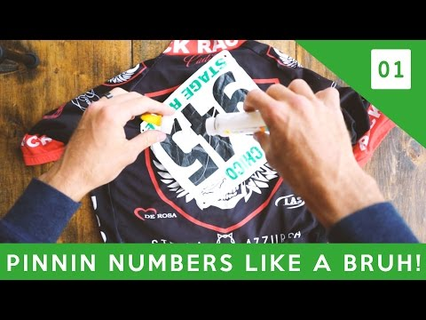 How To Pin Your Number Like A BRUH! (Cycling Tips)