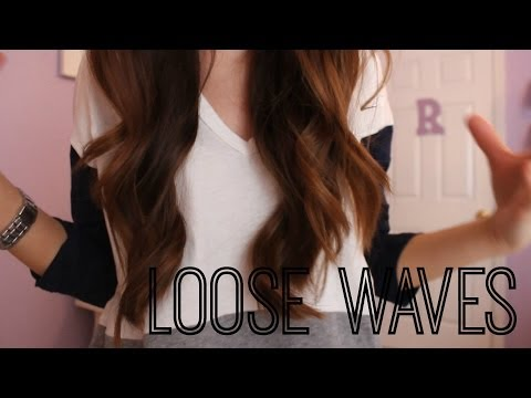 Everyday Loose Waves Hair Tutorial!