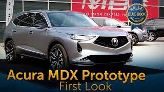 Acura MDX Prototype | First Look