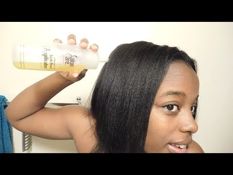 Hot Oil Treatment For Dry Sensitive Scalp | Did It Work Tho???