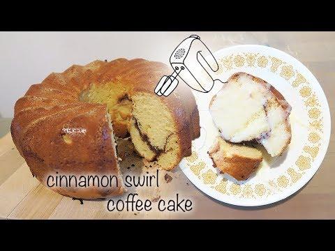 CINNAMON SWIRL BUNDT COFFEE CAKE - HOW TO BAKE
