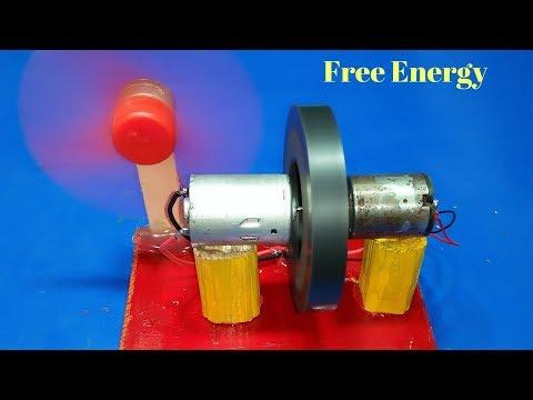 Free Energy Generator# Motor With Flywheel 100% New Technology Self Running exhibition