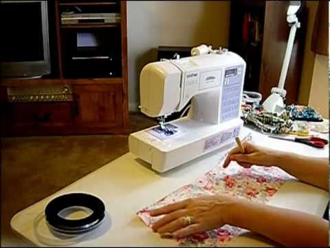 How to Sew with Curled Fishing Line Part 3