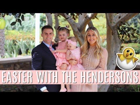 EASTER VLOG 2018   GRANDMAS HOUSE TOUR   Tara Henderson