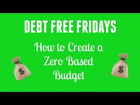 How to create a budget in Excel {Debt Free Fridays}