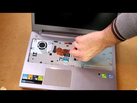 Démontage remontage d'un PC portable ex un LENOVO Z500