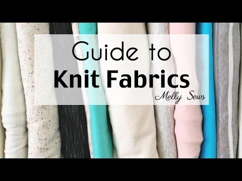 Understanding Knit Fabrics - Types of Knits