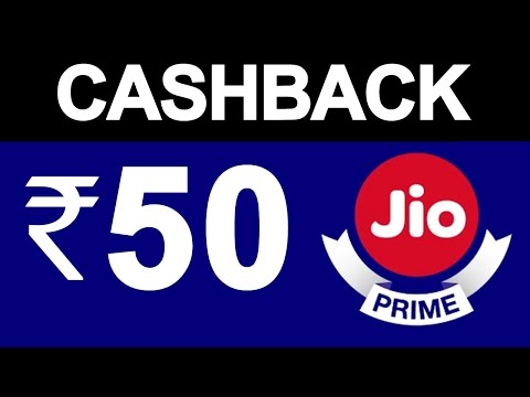 Get Flat ₹50 Cashback on JIO PRIME Recharge Plan | Jio Money OFFER | PayTM vs Reliance JIO