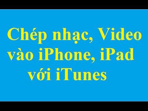 Chép nhạc, video vào iPhone, iPad bằng iTunes - http://taimienphi.vn