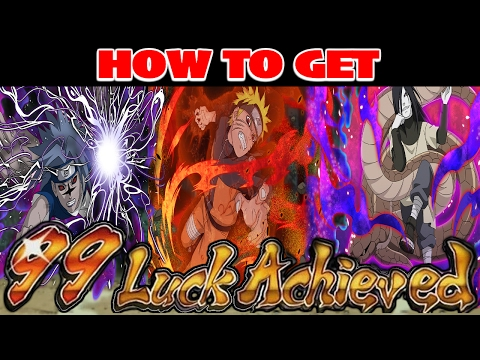 [TUTORIAL] HOW TO GET ULTIMATE + FARM TO 99 LUCK FAST! | Naruto Shippuden Ultimate Ninja Blazing