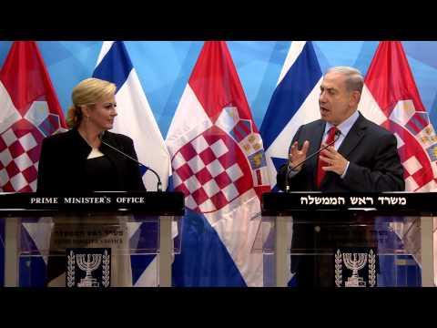 Xxx Mp4 PM Netanyahu S Meeting With Croatian President Grabar Kitarović 3gp Sex