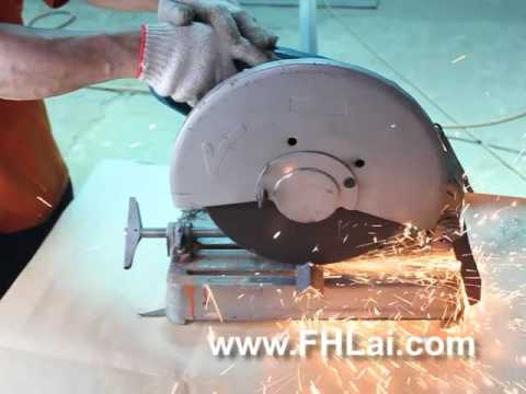 Chop Saw Angle Steel Cutting