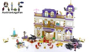 Lego Friends 41101 Heartlake Grand Hotel - Lego Speed Build Review
