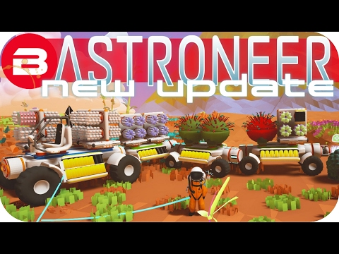 Astroneer Gameplay - NEW UPDATE: THE TRUCK CHAIN!!! Lets Play Astroneer Experimental