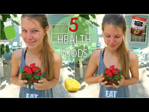 TOP 5 FOODS for a HEALTHY & FIT BODY   + Meal Ideas