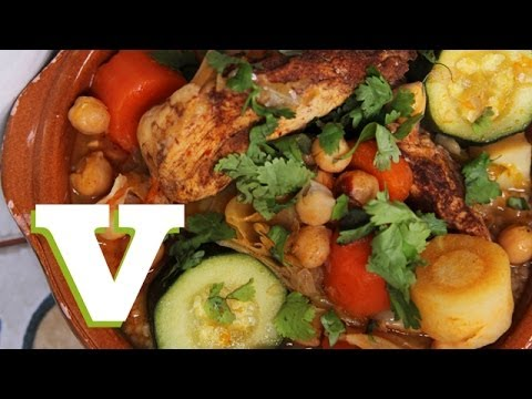 Moroccan Couscous With Chicken: Winter Warmers 2