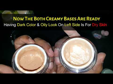 How To Make Waterproof Excellent Long Lasting Bridal Base Liquid At Home Flawless Makep Tips in Urdu