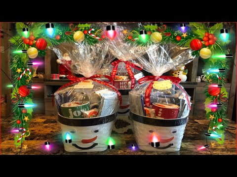 How to make movie night gift baskets on a budget: Cheap gift idea!