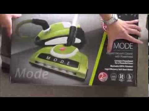 Hoover Mode Bagged Vacuum Cleaner with Power Head - Unboxing
