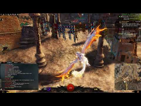 Guild Wars 2 Griffon Mount Permafrost & Apricot Dye