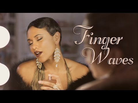 How To Style Finger Waves on Short Hair