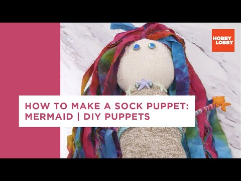 Sock Puppet: Mermaid