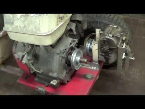 Shifter kart transmission install (part1)