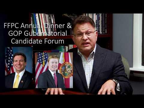 You're Invited: FFPC Annual Dinner & GOP Gubernatorial Candidate Forum