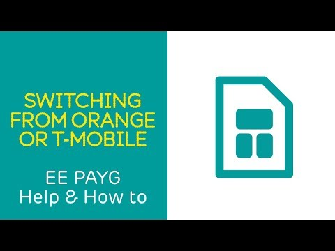 EE PAYG Help & How To: Switching From Orange or T-Mobile
