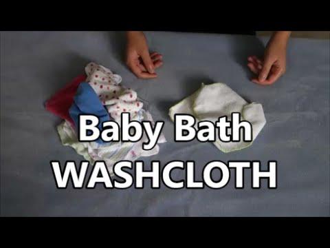 Baby Bath WASHCLOTH