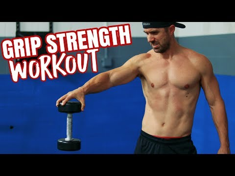 Grip Strength WORKOUT inspired by Brian Shaw - Strong Hands