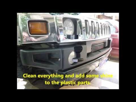 2005 H2 Bumper Replacement -