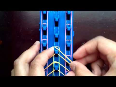 How to make a Zippy Chain bracelet by Cra-Z-Loom Crafter