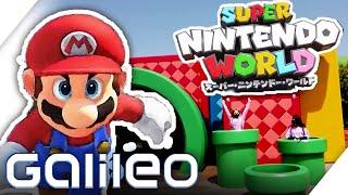 Der Freizeitpark für Nintendo Fans - Super Mario und Co. in Lebensgröße | Galileo | ProSieben
