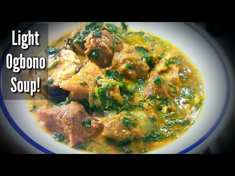 How to cook ogbono soup. Simplest Way Ever!