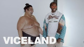 2 Chainz and Jerry Rice Go Head-to-Head with Sumo Wrestlers | MOST EXPENSIVEST