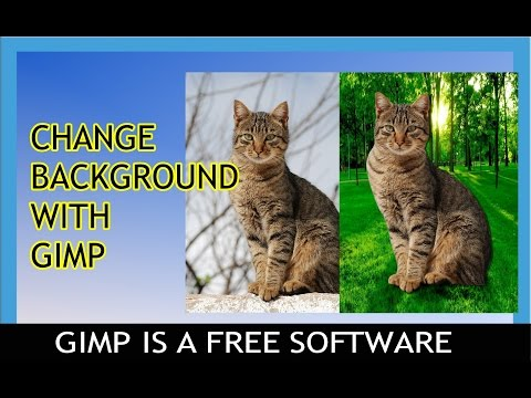 Change/Remove Background with Gimp for free