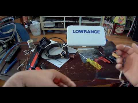 Lowrance Elite 9 Ti   Med/High  Total Scan unboxing