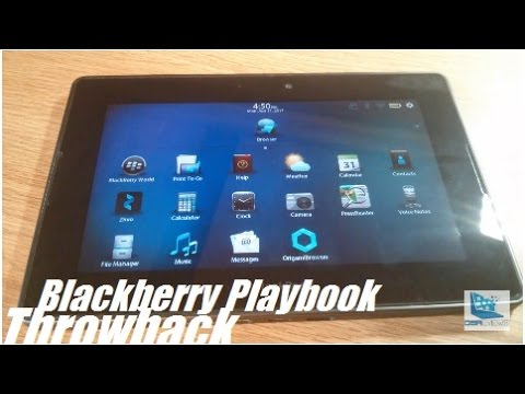 Retro Review: Blackberry Playbook 7