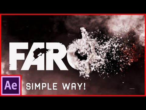 After Effects Tutorial: Particles Logo & Text Animation