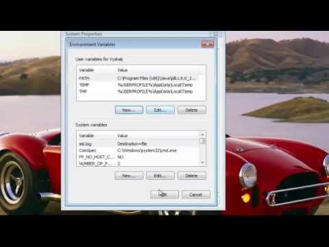 How to set Java(JDK) Path in Windows 7 Easily