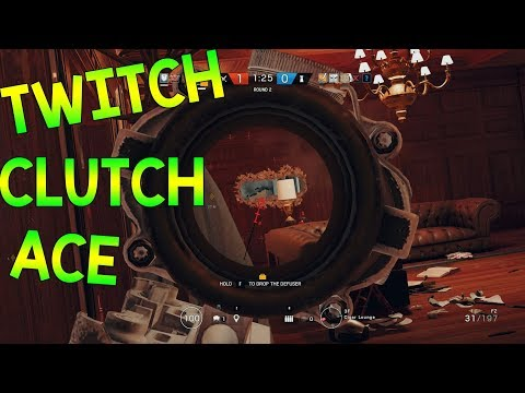 TWITCH CLUTCH ACE - Rainbow Six Siege
