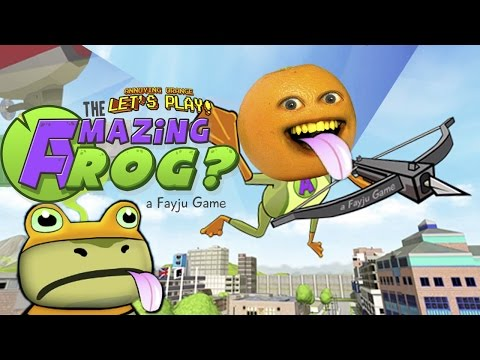 Annoying Orange Plays - Amazing Frog