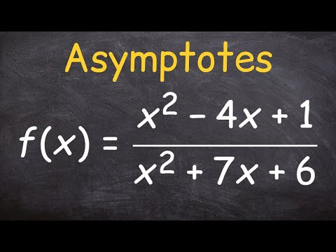 Finding the asymptotes