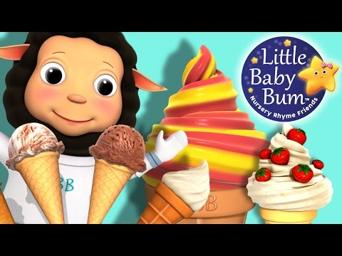Ice Cream Song for Children | Nursery Rhymes | Original Song by LittleBabyBum!